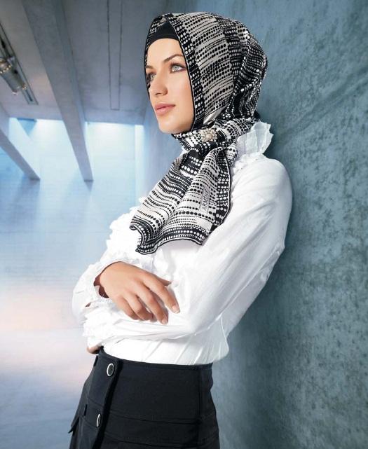 Офис стиль мусульманки
