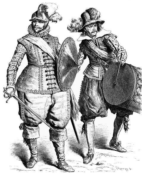 История костюма в иллюстрациях: 17 век ...: top-antropos.com/history/17-century/item/37-costume