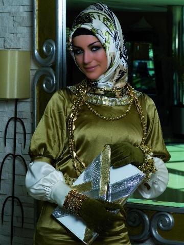 ювелирные изделия и хиджаб