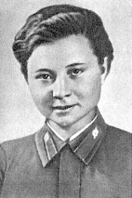 Снайпер Мария Поливанова. Фотография