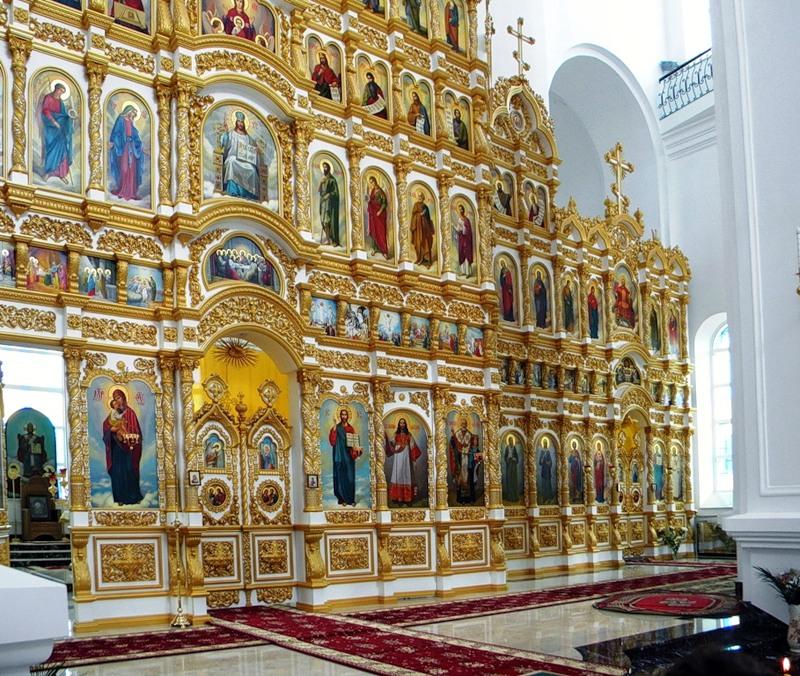 Свято-Николаевский собор в городе Валуйки Белгородской области