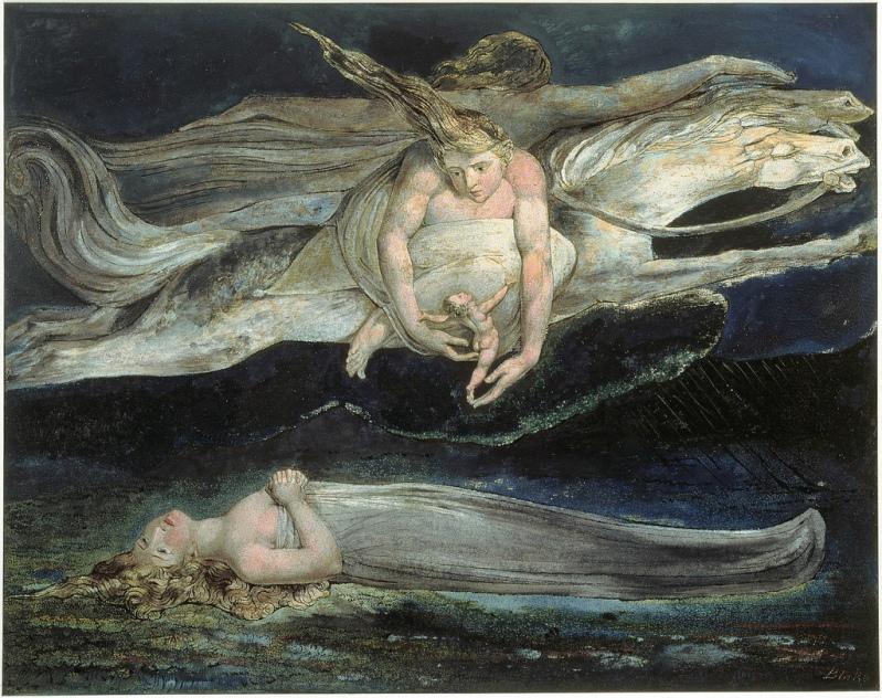 доблести его, Как ангелы, затрубят об отмщенье. И в буре жалости родится вихрь, И явит облако с нагим младенцем, И, с этой вестью облетев весь мир, Затопит морем слёз его.