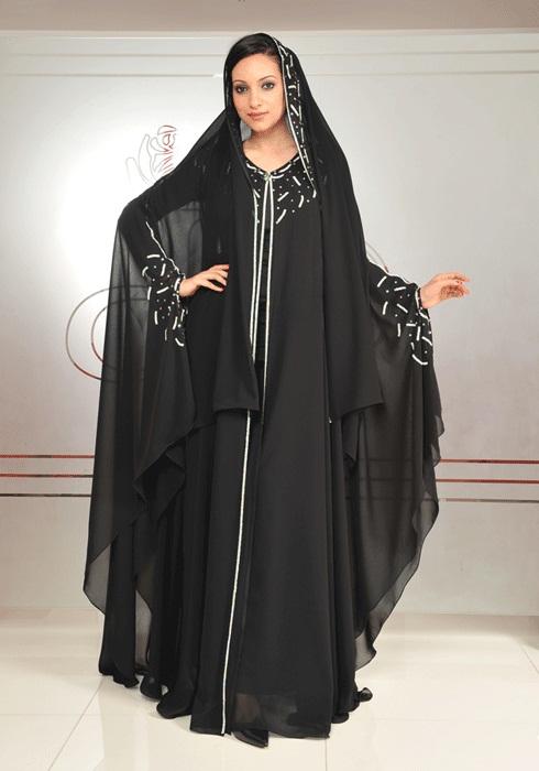 Абая - мусульманское платье. Фото