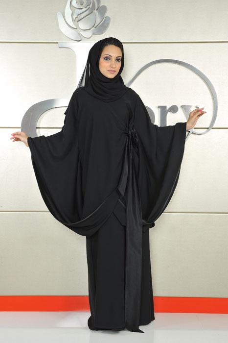 Абайя - исламское платье. Фото