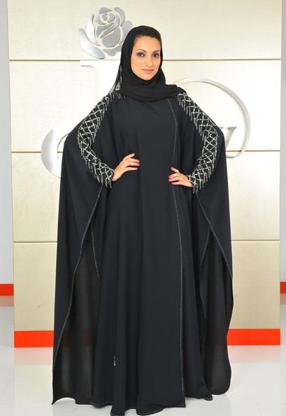 Абайя - арабское национальное платье. Фото