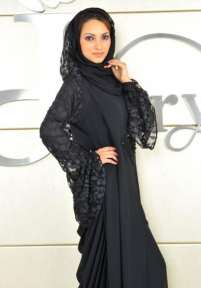 Мусульманка в платке. Фото