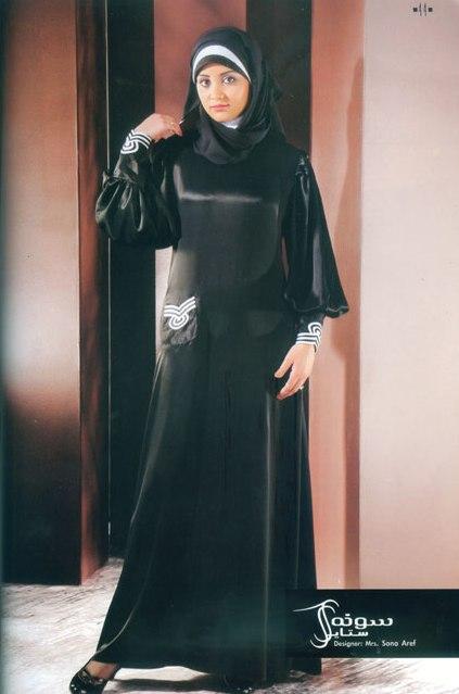 Красивая девушка-мусульманка.