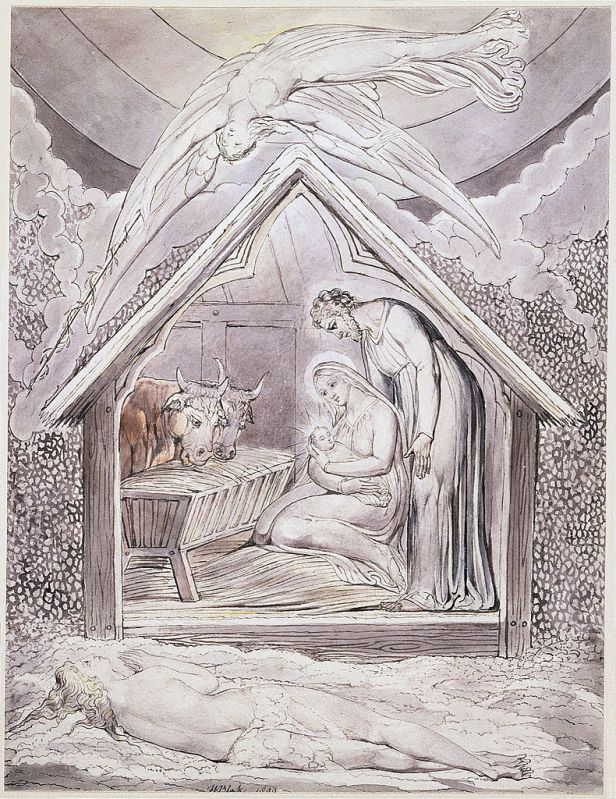 Уильям Блейк. Рождество Христово