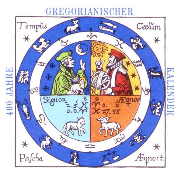 Григорианский календарь / Gregorian calendar