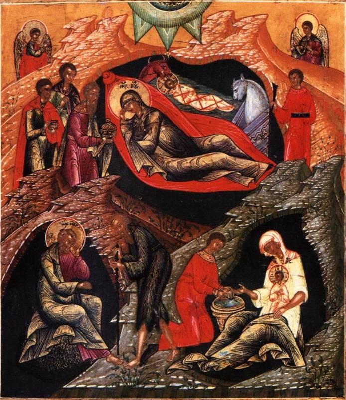 Рождество Христово. Икона. 20 век