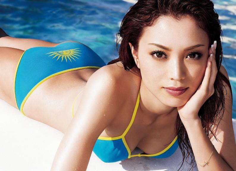 красивая японка Юри Эбихара. Фото / Yuri Ebihara. Photo