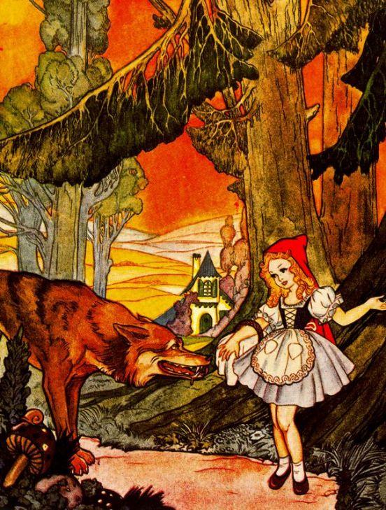 Сексуальный мультик волк и красная шапочка фото 193-97