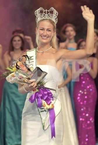Датчанка Катарина Свенсон, Мисс Земля 2001. Фото / Catharina Svensson (Denmark), Miss Earth 2001. Photo