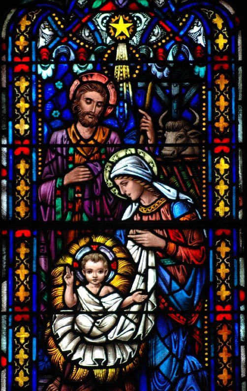 Рождество Христово. Витраж