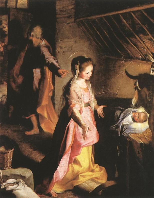 Федерико Бароччи. Рождество Христово / Federico Barocci. The Nativity