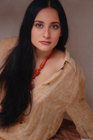 Красивая татарская актриса Нафиса Хайруллина. Фото