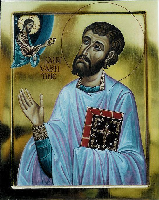 Святой Валентин. Икона / Saint Valentine. Icon