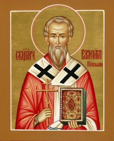 Святой Валентин Римлянин. Икона / Saint Valentine. Icon