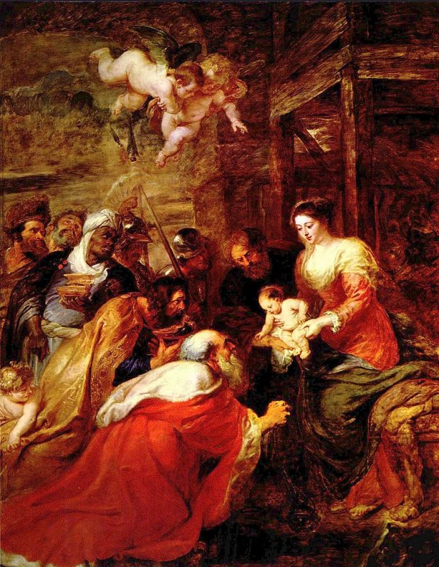 Питер Пауль Рубенс. Поклонение волхвов / Rubens. Adoration of the Magi