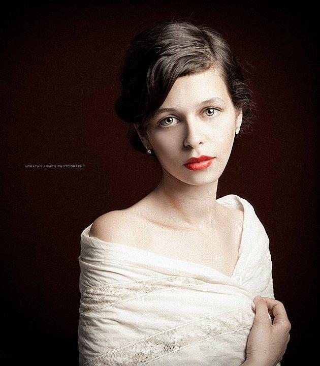 Мане Оганян - армянская модель. Фото