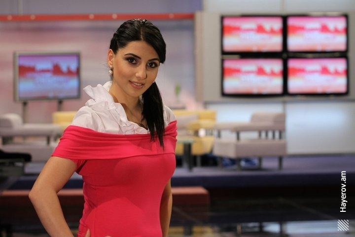 красивая армянка Мери Макарян, телеведущая и актриса. Фото