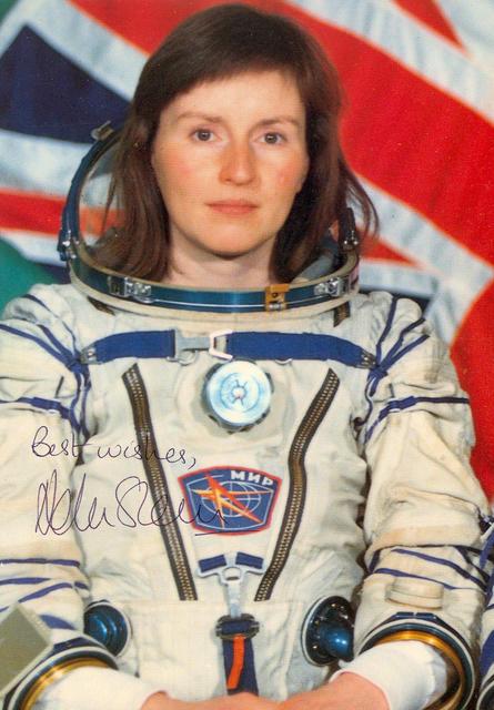 первая британская женщина-космонавт Хелен Патриция Шарман. Фото