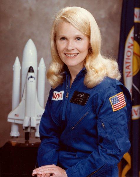 американская женщина-космонавт (астронавт) Маргарет Ри Седдон. Фото