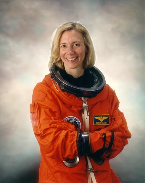 американская женщина-космонавт / астронавт Сьюзен Килрейн. Фото