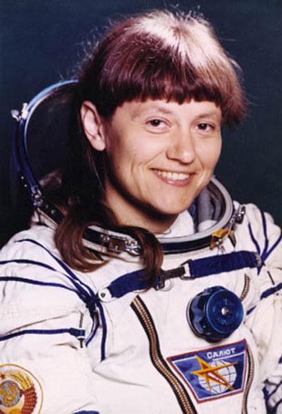 вторая женщина-космонавтка Светлана Савицкая. Фото