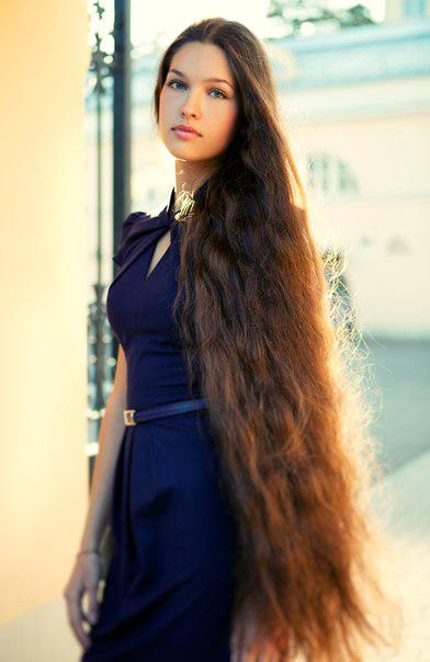 Елизавета Голованова - российская Рапунцель. Фото / Elizaveta Golovanova, Miss Russia 2012. Photo