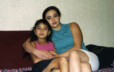 Ирина Шарипова в детстве. Фото / Irina Sharipova in childhood. Photo