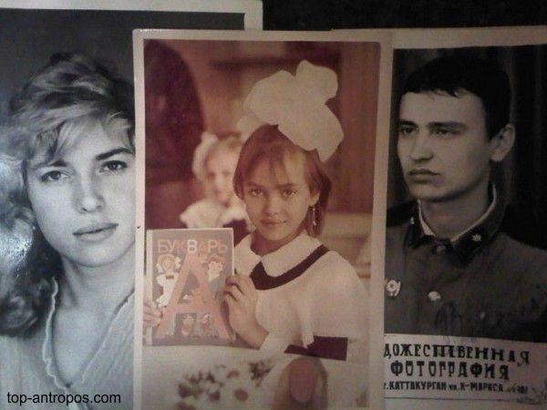 Ирина Шейк в детстве. Фото / Irina Shayk in childhood. Photo