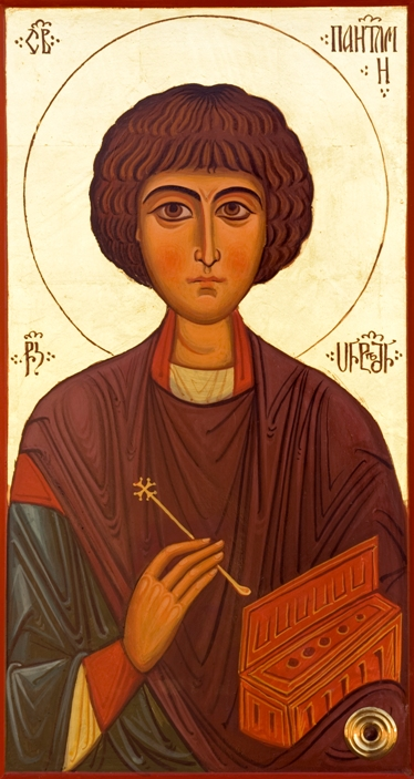 Святой Пантелеймон-целитель. Икона