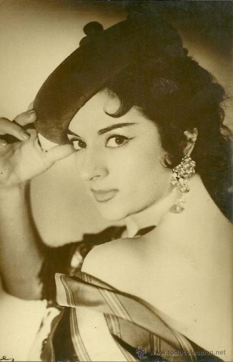 красивая испанка Лола Флорес. Фото / Lola Flores. Photo