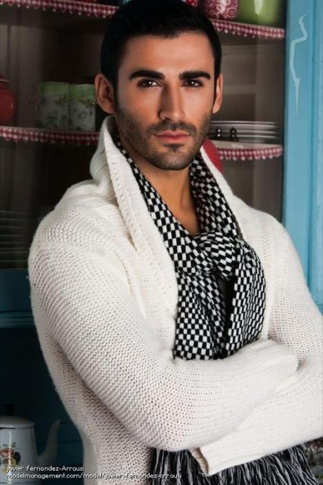 красивый испанец Хавьер Фернандес. Фото / Javier Fernandez. Photo