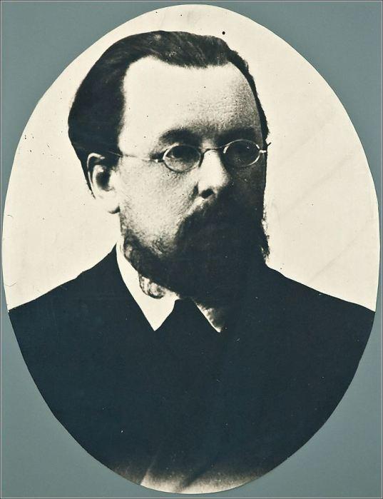 Константин Циолковский в возрасте 43-х лет. Фото