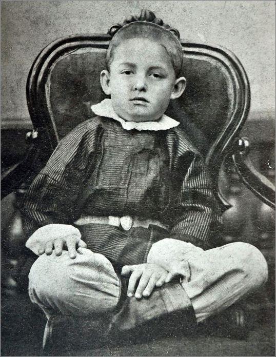 Константин Циолковский в возрасте 5-ти лет. Фото