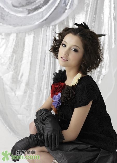 красивая уйгурка Baha Guli. Фото / Uyghur girl (model). Photo / 巴哈古丽