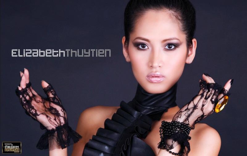 вьетнамская фотомодель Elizabeth Thuy Tien