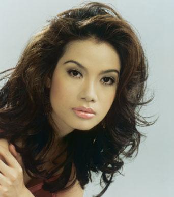 вьетнамская фотомодель и актриса Truong Ngoc Anh