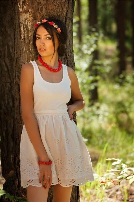 Анжелика Якусева, башкирская певица, модель. Фото