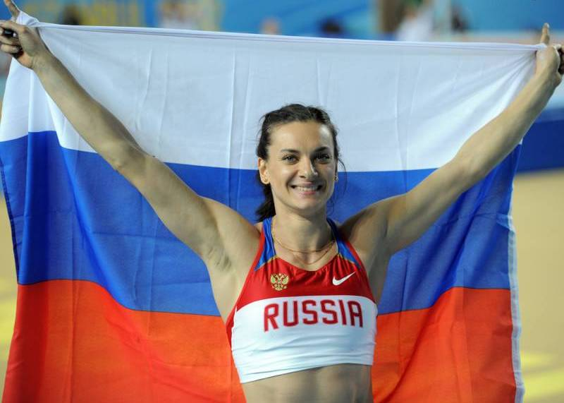 Елена Исинбаева, самая красивая легкоатлетка. Фото