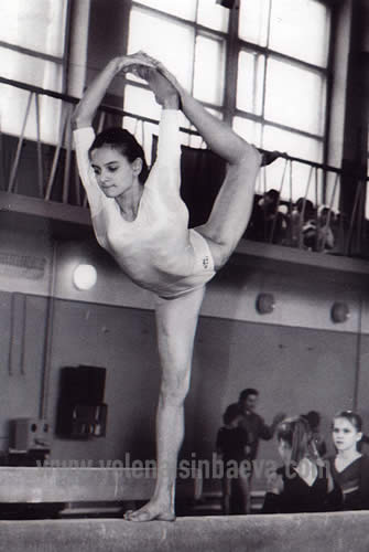 Елена Исинбаева в детстве. фото