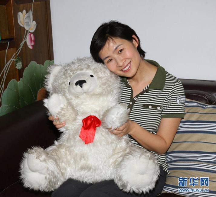 Лю Ян - первая китаянка, побывавшая в космосе. Фото