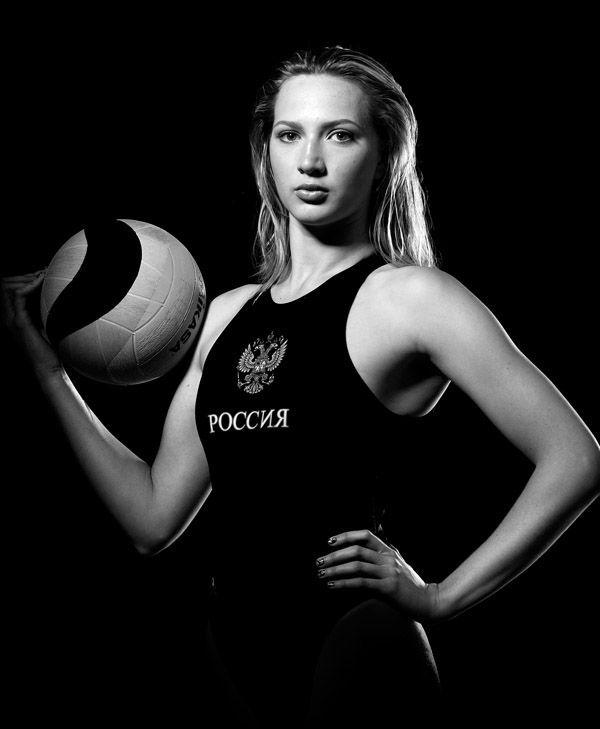 Ольга Белова, российская ватерполистка (водное поло). Фото