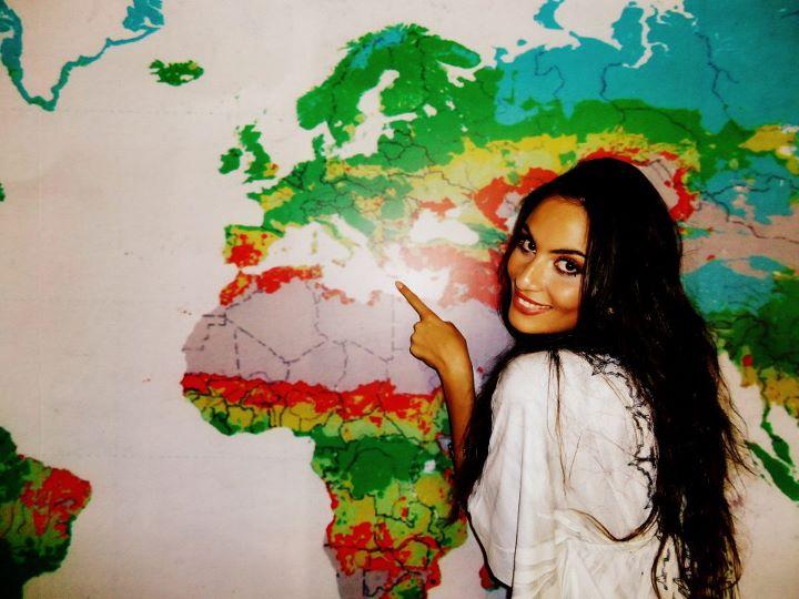 самая красивая греческая девушка Мария Цагараки. Фото / Μαρία Τσαγκαράκη