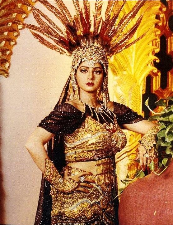 актриса Болливуда Шридеви. Фото