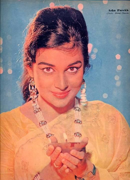 индийская актриса Аша Парекх. Фото