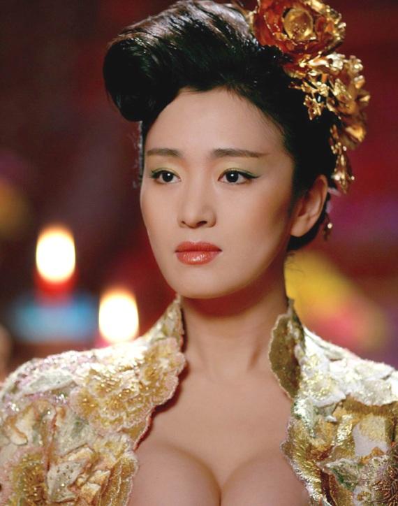 Гун Ли / Gong Li, китайская актриса. фото