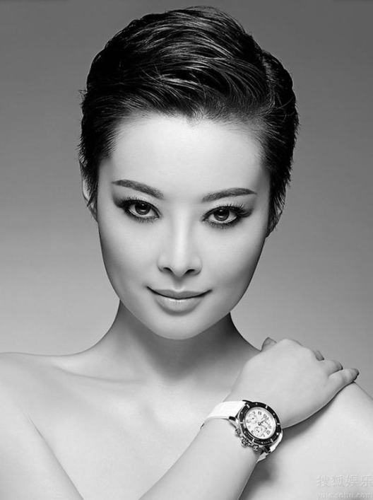 красивая китаянка Юань Ли / Yuan Li. фото